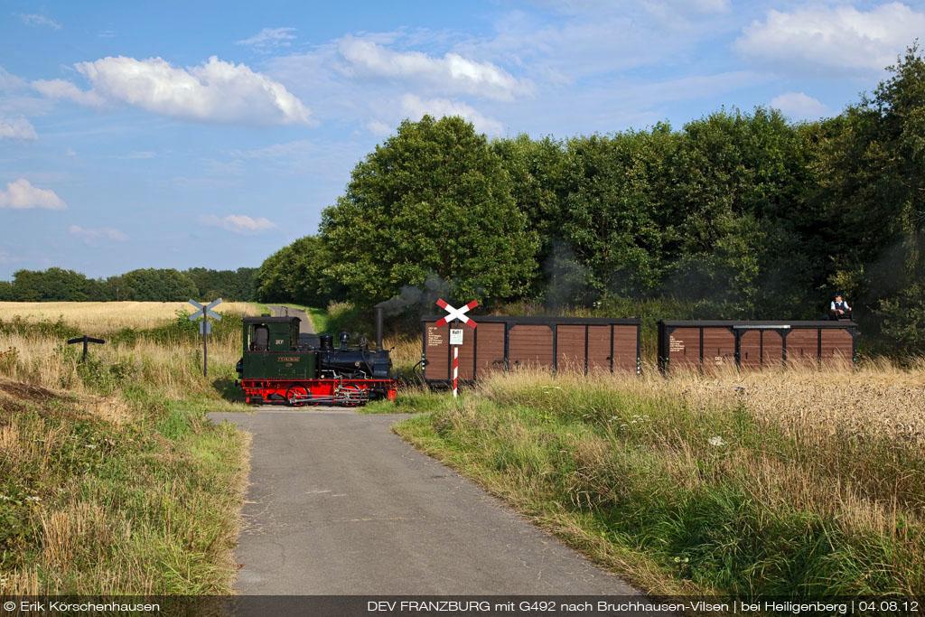 Ein Güterzügle in der norddeutschen Tiefebene…