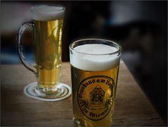 Ein gutes Glas Bier ...