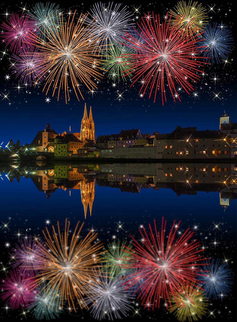 Ein gutes Neues Jahr wünsche ich allen meinen Freunden und den ...