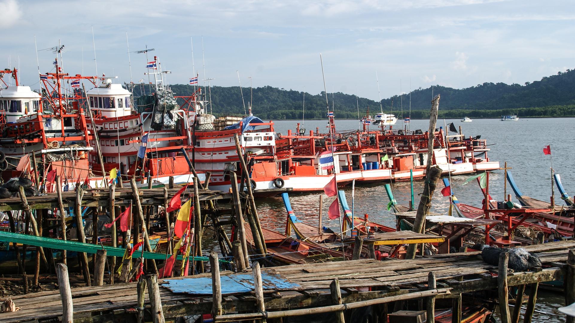 ein Hafen auf thailändisch