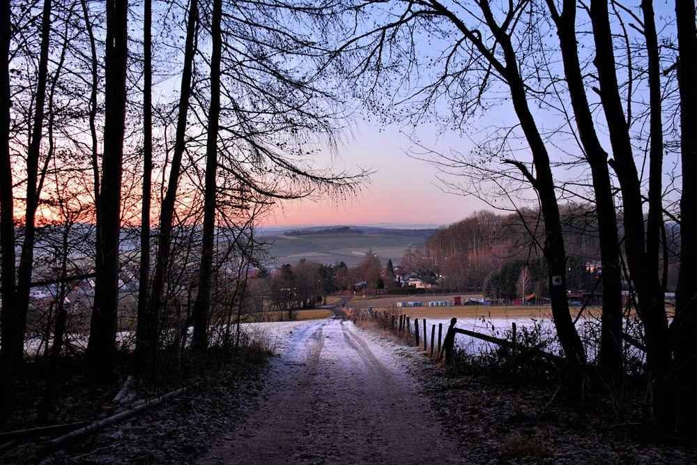 ein Hauch von Winter....