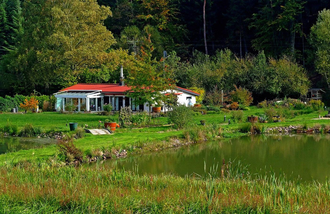 Ein Haus am See ...