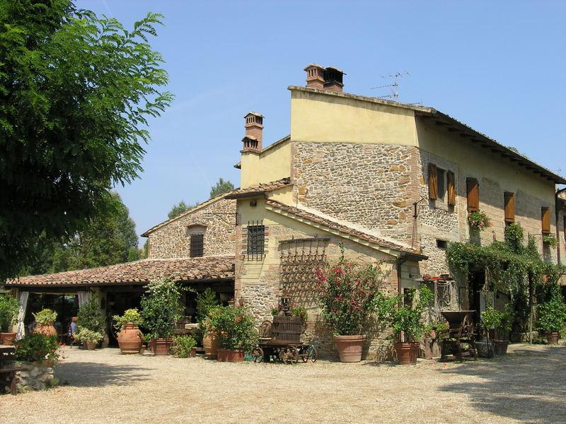 Ein Haus in der Toskana Foto & Bild