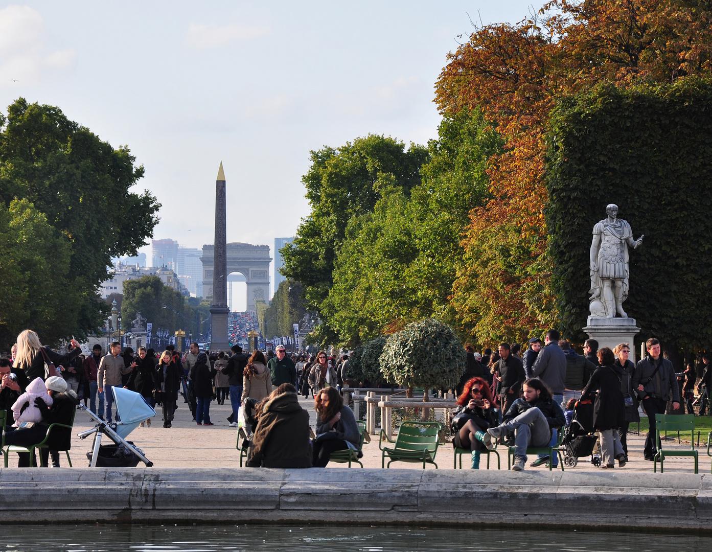 Ein Herbsttag in Paris