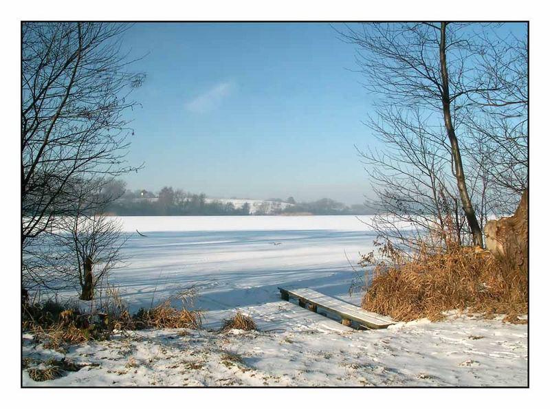 Ein herrlich schöner Wintertag