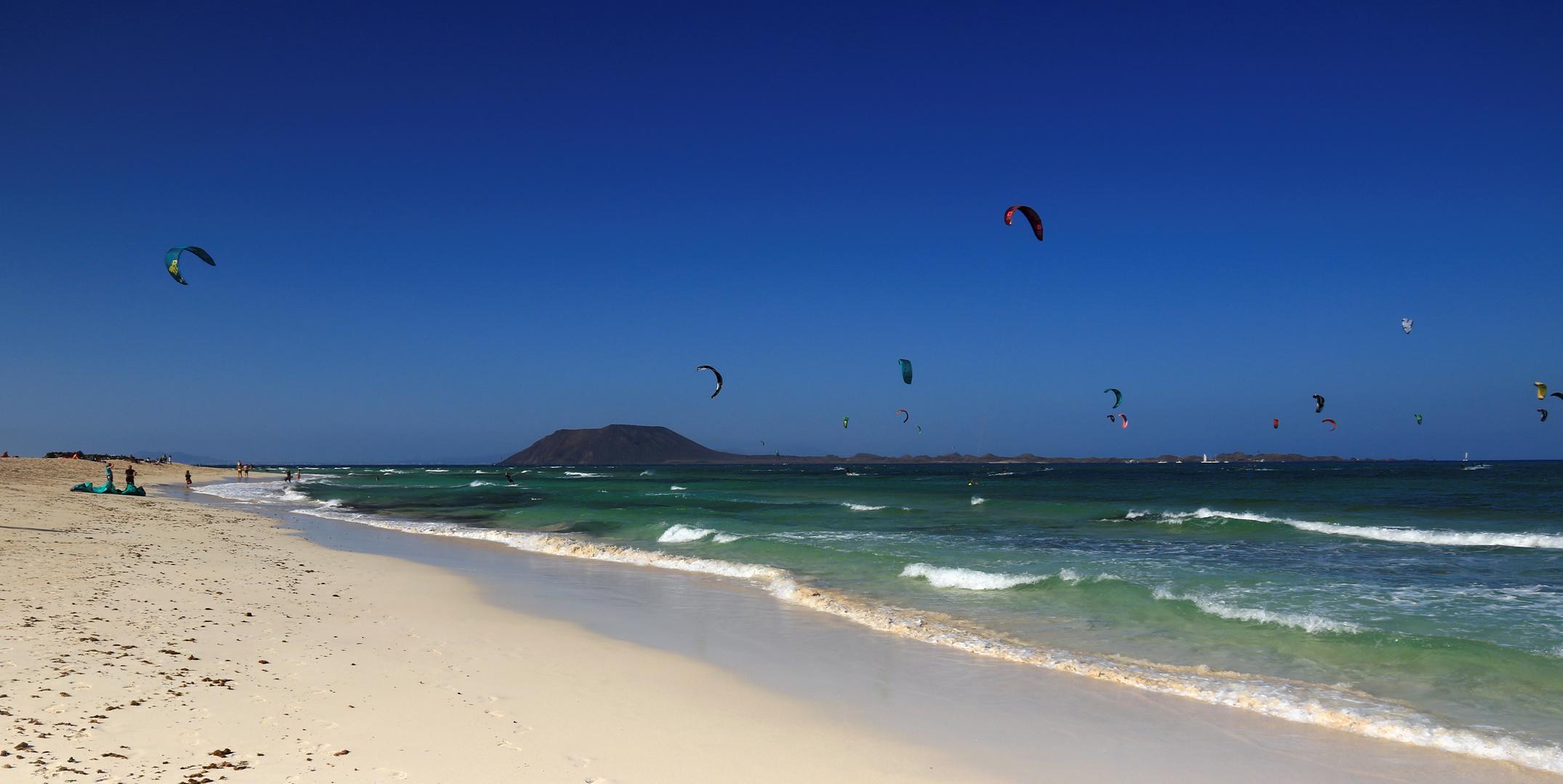 Ein herrlicher Ort für Segler und Surfer aller Arten