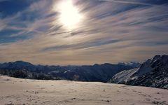 ein herrlicher Skitag geht zu Ende ...