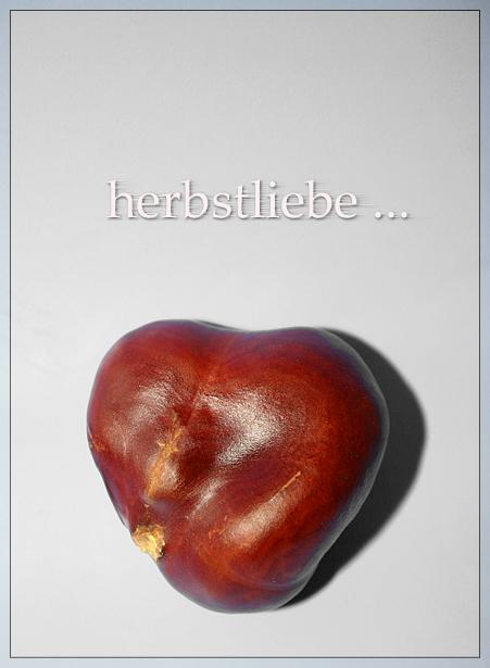 Ein Herz für den Herbst ...