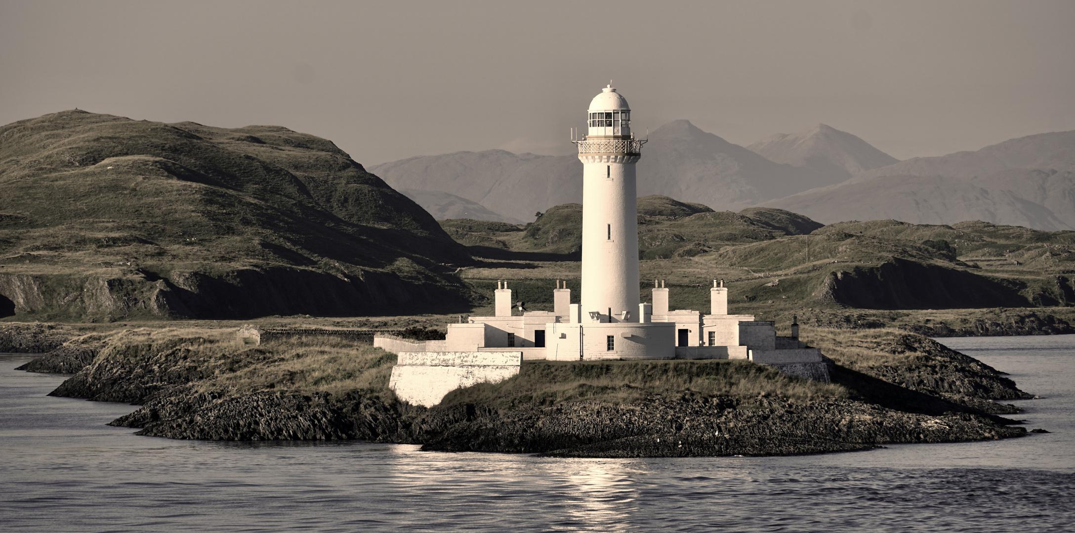 Ein Highlight / Lighthouse vor Oban