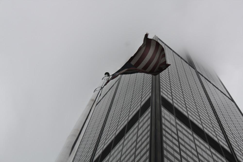ein hochaus in chicago