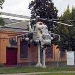 Ein Hubschrauber von Dazumal...