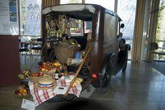 ein idelaer Picknickwagen - leider gibt es so etwas heute nicht mehr