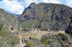 Ein Inka-Schrein auf dem Inka-Trail in Peru