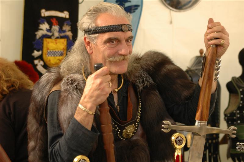 ein keltischer krieger - c2008