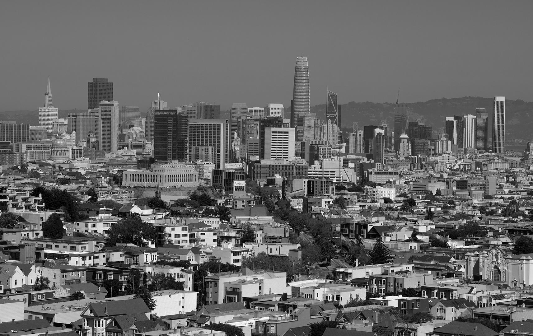 Ein klarer Tag in San Francisco