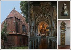 Ein kleiner Blick in die St. Marien Kirche in Rendsburg.