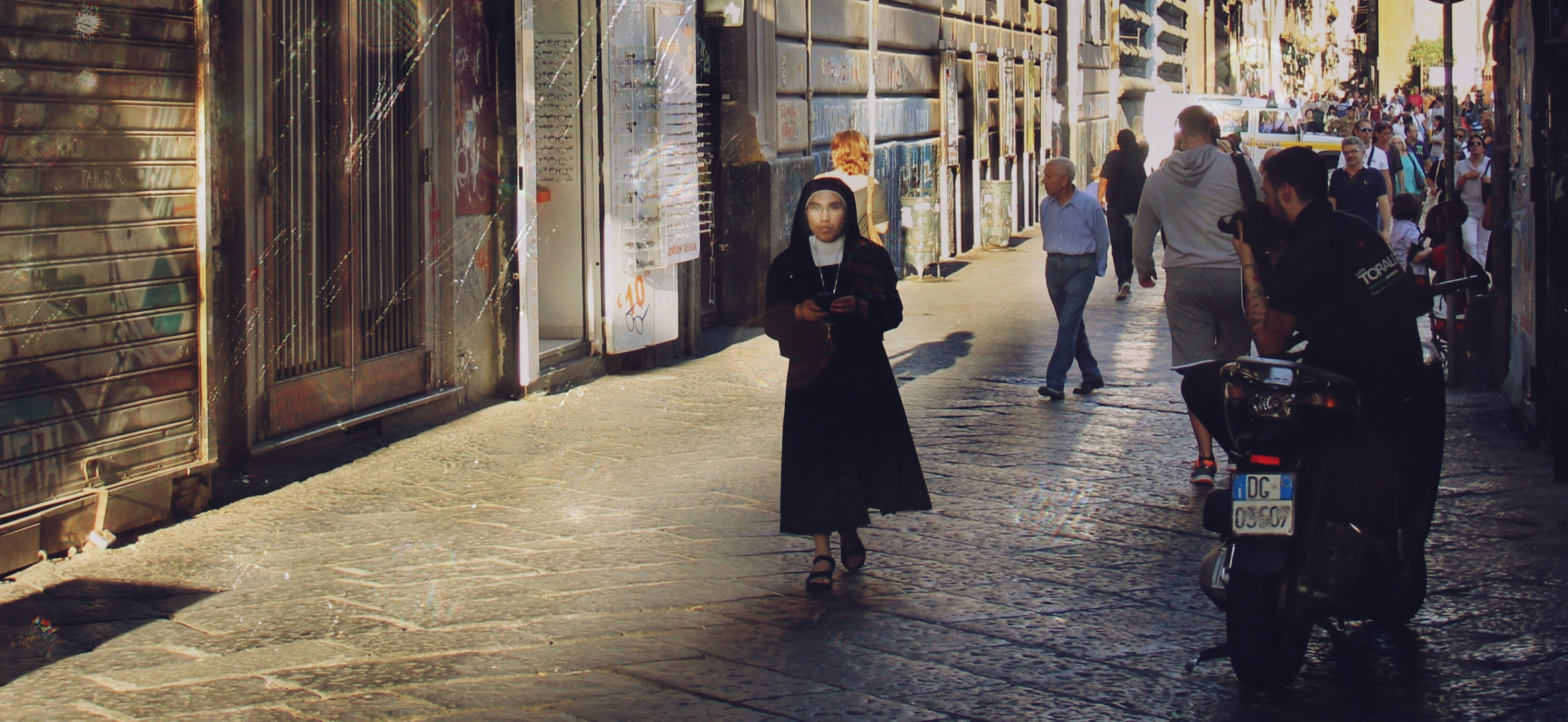 Ein kleiner Engel in Neapel.