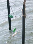 Ein kleiner Fischeranlegeplatz in Murano Venedig