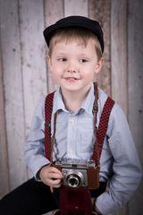 Ein kleiner Fotograf