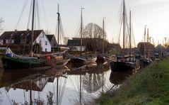 Ein kleiner Hafen in Carolinensiel