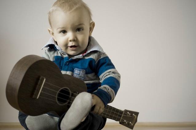 ein kleiner Musiker
