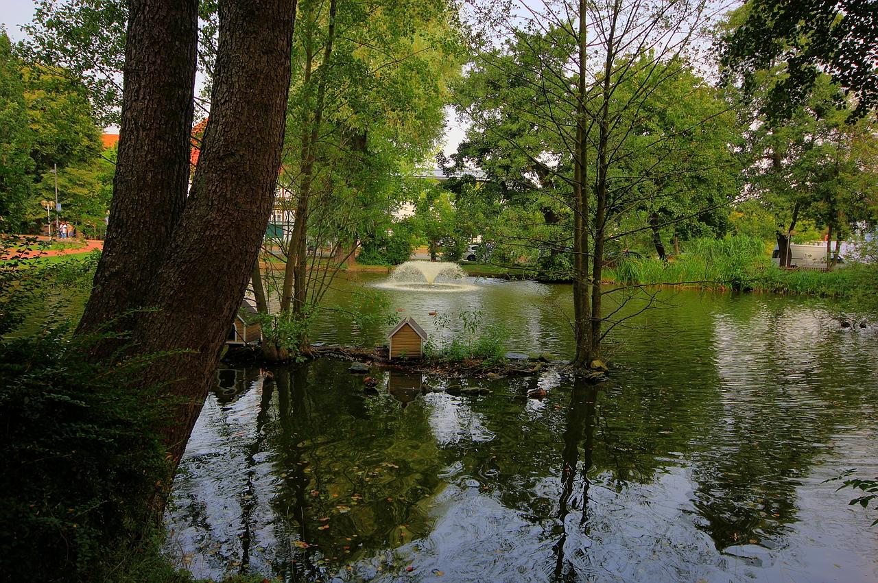Ein kleiner park zum ausruhen in barsinghausen foto bild landschaft garten - Ein kleiner garten ...