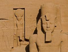 Ein kleiner Teil von Abu Simbel