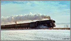 Ein kleiner Vorgeschmack auf Dampfeisenbahn im Winter