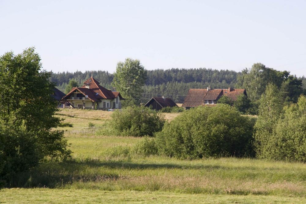 ein kleines Dorf bei Allenstein