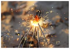 Ein kleines Feuerwerk
