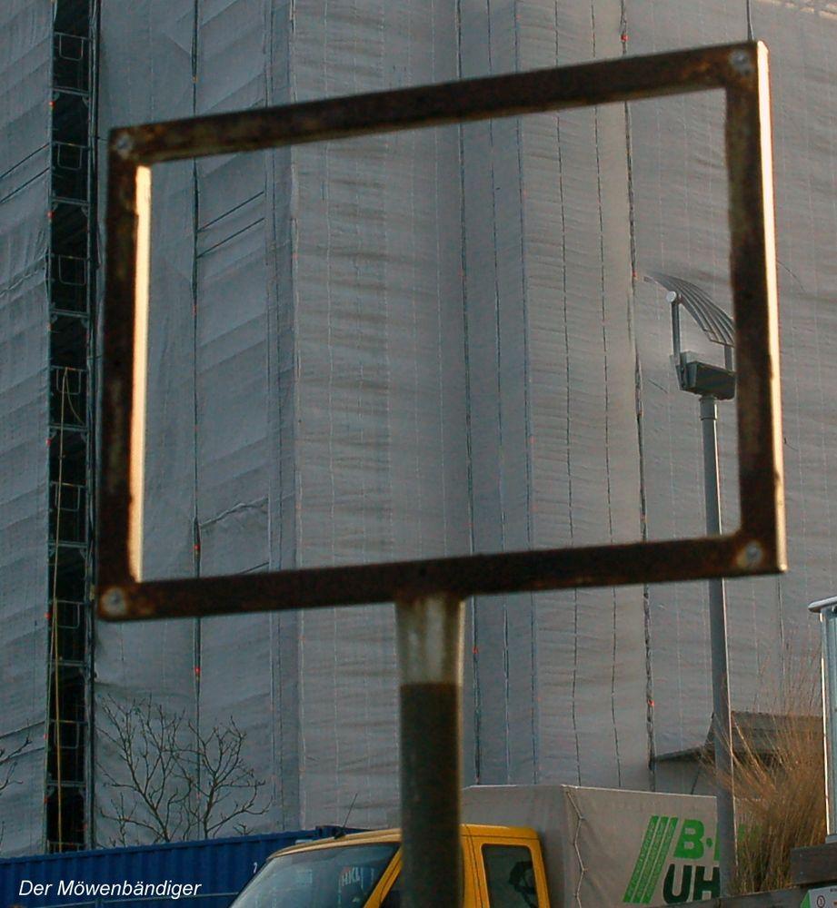 Ein kleines Stück von einem grossen Vorhang