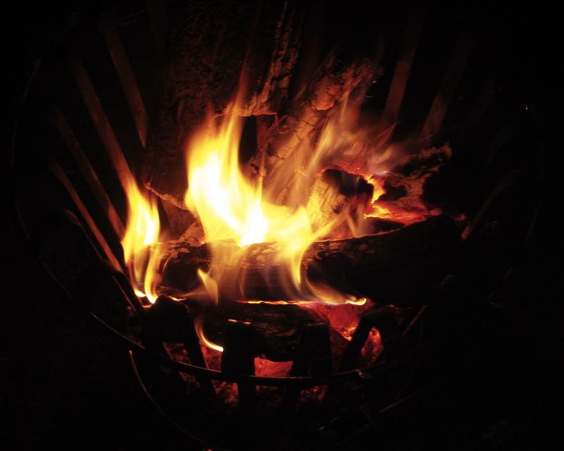 Ein Korb voller Feuer