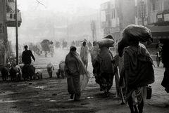 Ein kühler und nebliger Januarmorgen 1982 in der Stadt Shivas