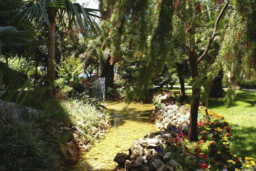 Ein künstlicher Garten Eden