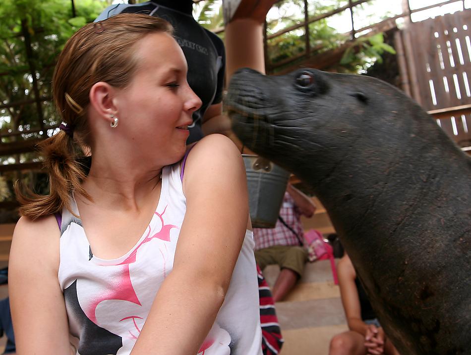 Ein Küsschen bitte...