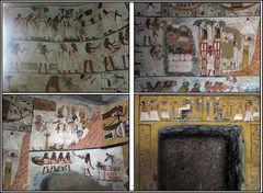 Ein kurzer Blick in das Grab des Amen-em-inet (TT 277)