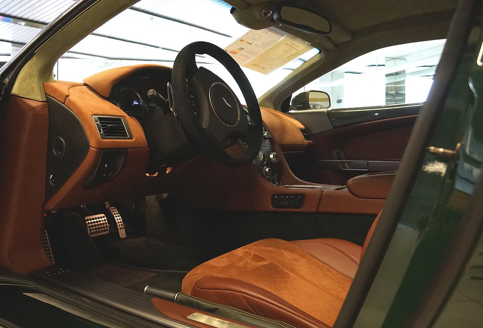 Ein kurzer Blick in einen Aston Martin