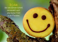 Ein Lächeln