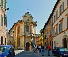 ... ein lauschiger Winkel in Siena -