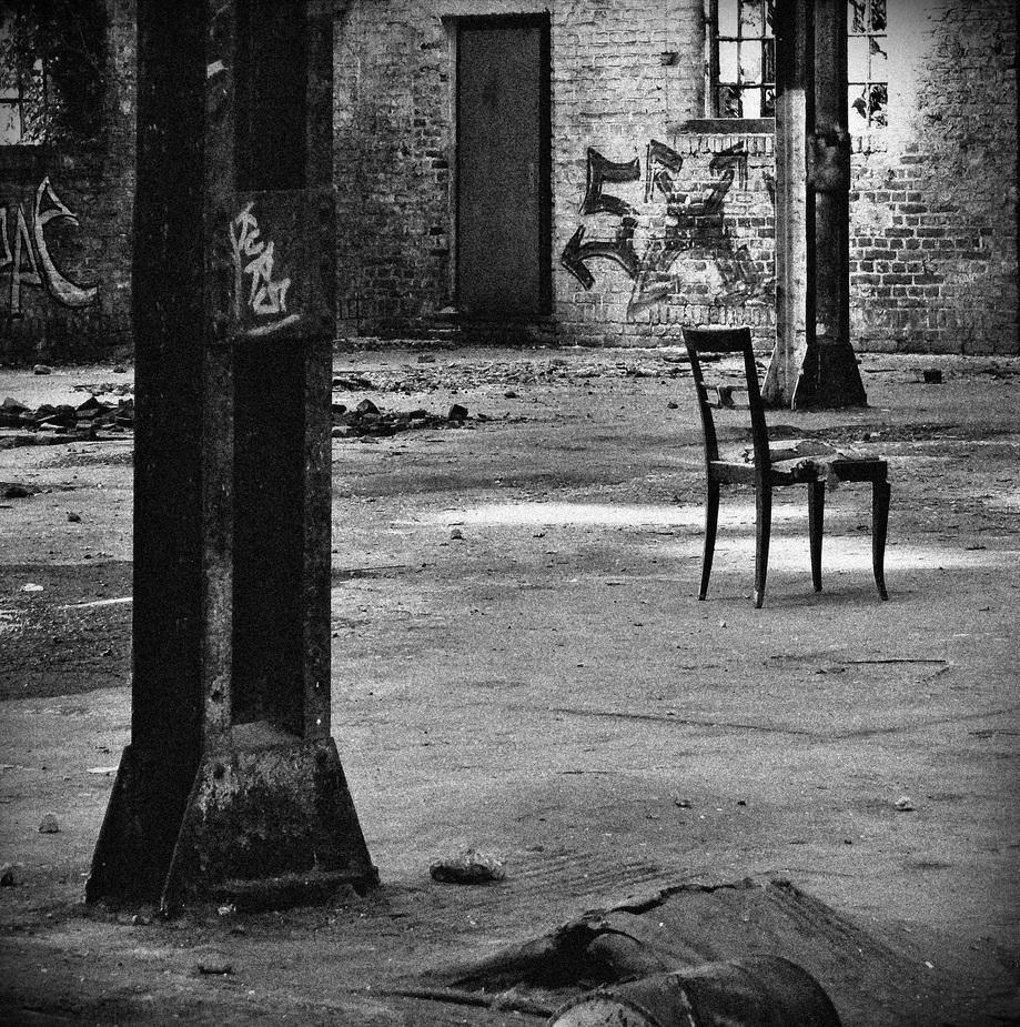 Ein leerer Stuhl...
