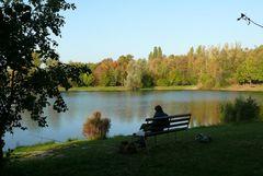 Ein letztes Mal die Herbstsonne angeln