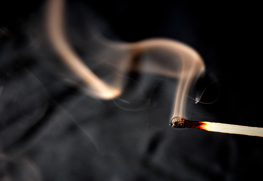 Ein letztes Rauchzeichen