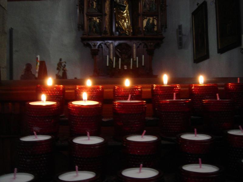 Ein Licht das Wärme, Frieden und Liebe spendet