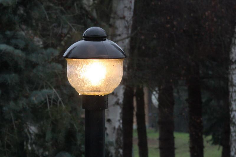 Ein Licht in der Dämmerung.....