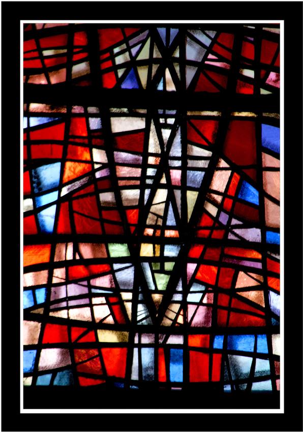 Ein Lichtblick in der Pfarrkirche zu Monschau