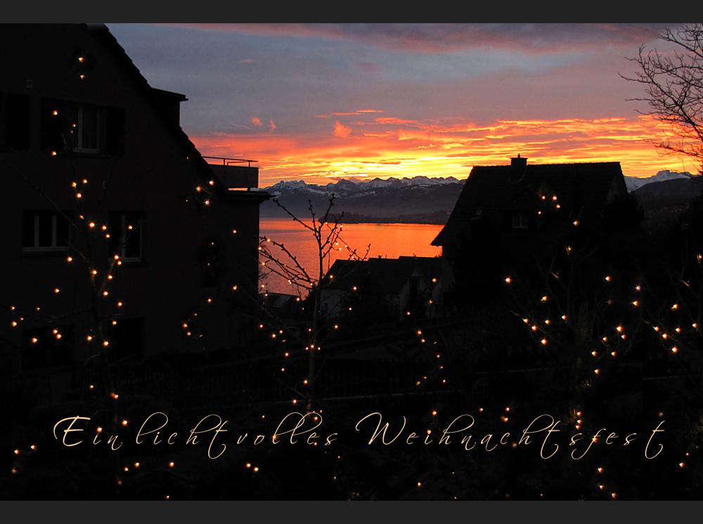 Ein lichtvolles Weihnachtsfest
