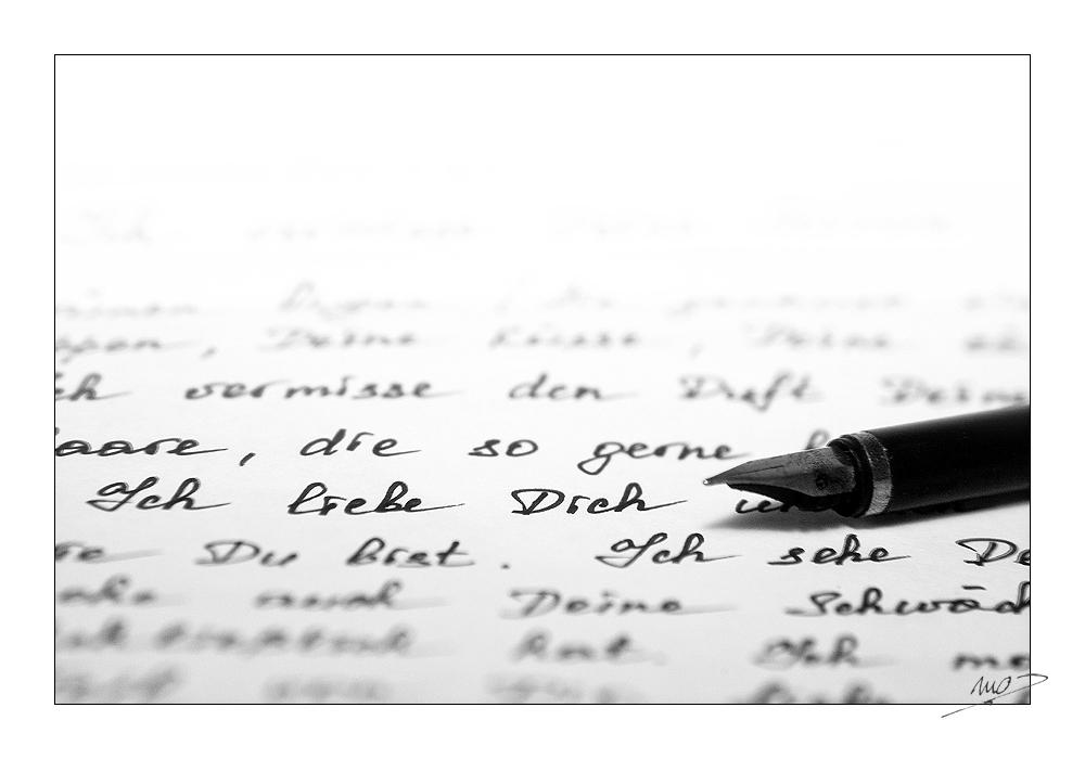 [...Ein Liebesbrief...]