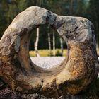 ein Loch im Stein