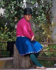 Ein Mädchen aus Equador