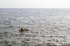 Ein Mann und sein Meer